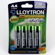 AA 2700mAh Rechargeable Battery