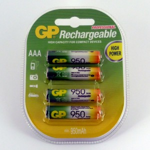 AAA 950mAh Rechargeable Battery